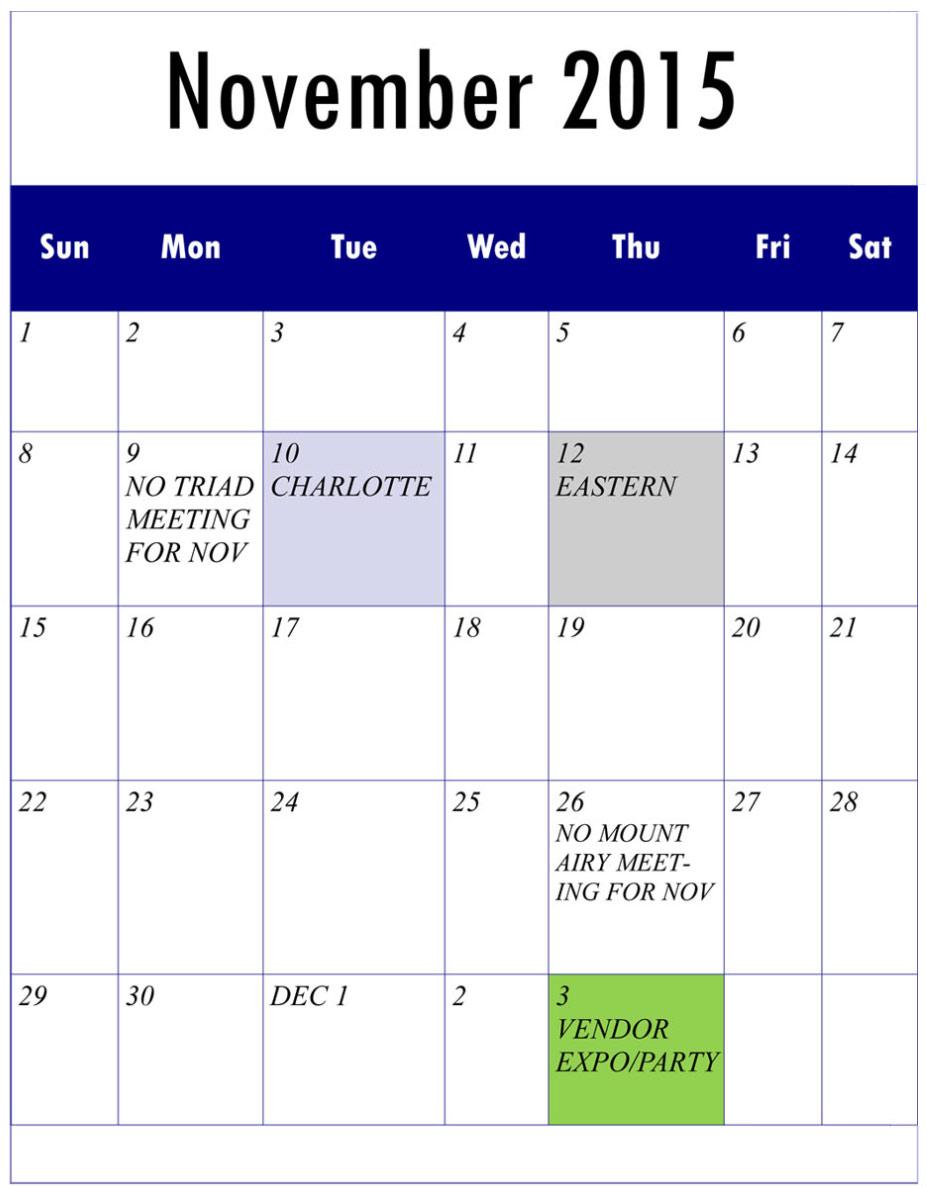 NCTMC-Calendar